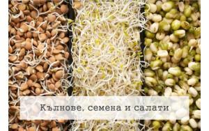 Кълнове, семена и салати